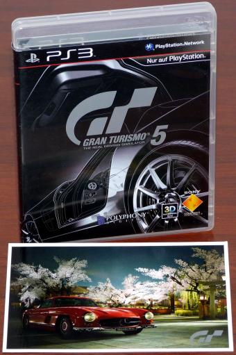 Gran Turismo 5 Collector's Edition GT - PlayStation 3 (PS3) Blue-Ray Disc Spiel, Polyphony Digital/Sony 2010