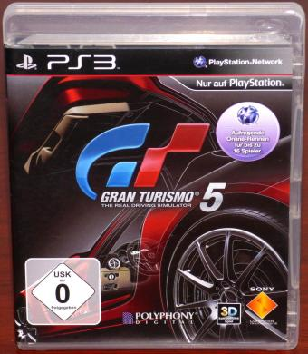 Gran Turismo 5 PlayStation 3 (PS3) Game, Polyphony Digital/Sony 2010