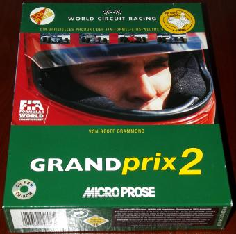 Grand Prix 2 (GP2) Formel-1-Simulator von MicroProse 1996