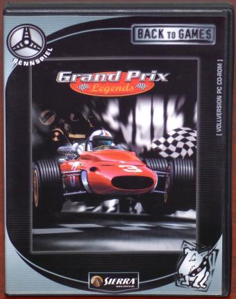 Grand Prix Legends PC CD-ROM Papyrus/Sierra 1998