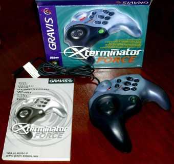Gravis Xterminator Force Gamepad