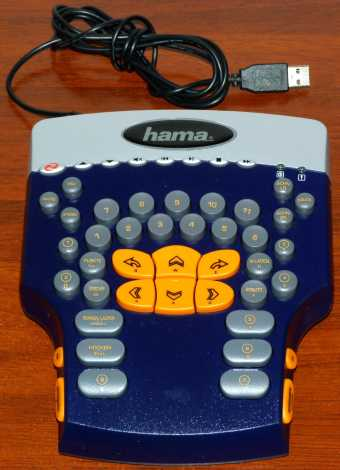 Hama USB Game Controller Model Number: KU-0536