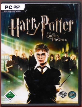 Harry Potter - Und der Orden des Phönix inklusive Videospiel-Karte PC DVD-ROM Warner Bros Entertainment/Electronic Arts 2007