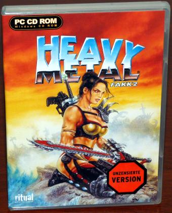 Heavy Metal FAKK2 - unzensierte Version - ritual Entertainment/Take2 2000