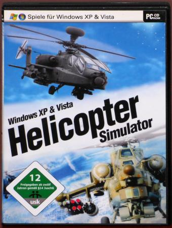 Helicopter Simulator PC CD-ROM Windows XP & Vista media GmbH