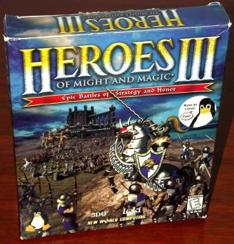 Heroes of Might and Magic III für LINUX von Loki / 3DO
