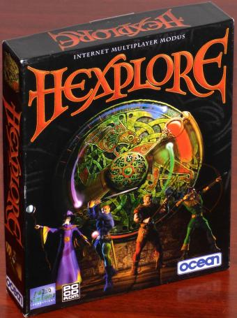 Hexplore PC CD-ROM helio Visions Productions/ocean/Infogrames OVP Bigbox 1998