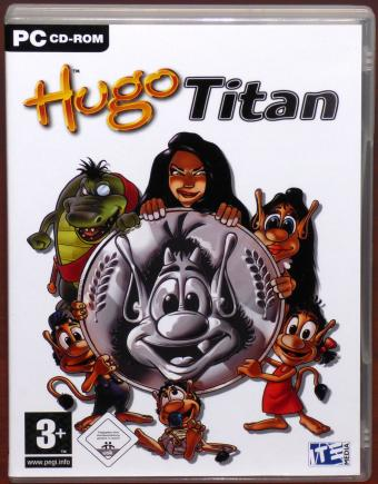 Hugo Titan PC CD-ROM ITE Media ApS 2004