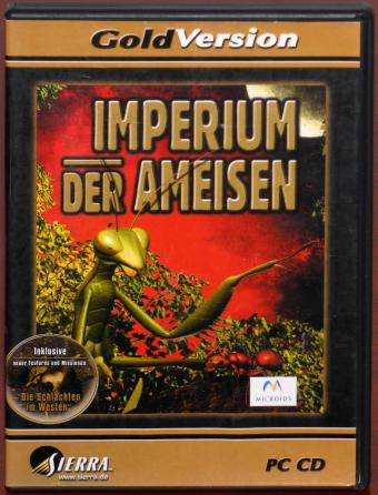 Imperium der Ameisen Gold Version PC CD-ROM Albin Michel 1991/Microids/Sierra 2001