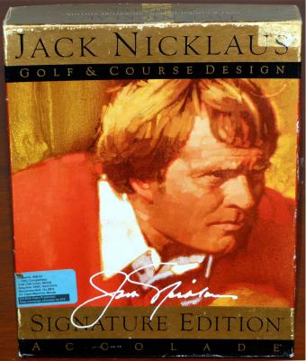 Jack Niklaus Golf & Course Design - Signature Edition - Accolade Inc. 1990