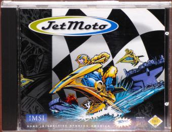 JetMoto PC CD-ROM 3Dfx IMSI/Sony 1997