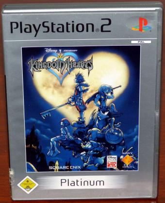Kingdom Hearts - PlayStation 2 Platinum Squareenix/Disney Interactive 2002