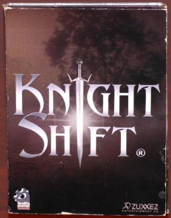 Knight Shift (Polanie-II) 3x PC CD-ROMs Reality pump/Deep Silver/Zuxxez Entertainment AG 2003