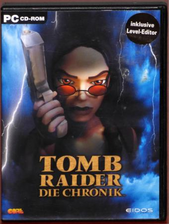 Lara Croft - Tomb Raider Die Chronik PC CD-ROMs inkl. Level-Editor Core Design/Eidos 2000