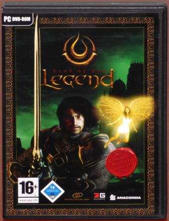 Legend - Hand of God PC DVD-ROM inkl. Handbuch & Poster Master Creating GmbH/dtp Anaconda 2007