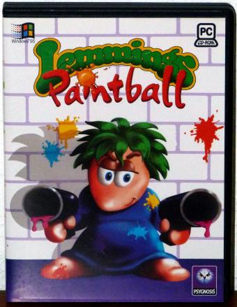 Lemmings Paintball - Psygnosis/Dice 1996