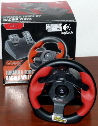 Logitech Formula Force GP Racing Whell PC USB Force Feedback Lenkrad