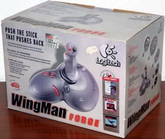 Logitech WingMan Force Joystick USB & Gameport, I-Force from Immersion, Force Feedback 1998