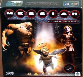 Messiah - Die verschwiegenen Sünden - Sex, Religion, Besessenheit, Tod - Uncut ungeschnittene Version inkl. Making-Of CD-Rom Soundtrack von Fear Factory & DJ KJD, OVP in Eurobox, David Perry/Shiny/Interplay 1999