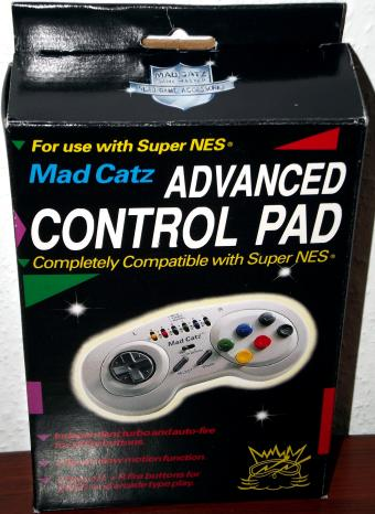 Mad Catz Advanced Controller Pad für Nintendo Super NES