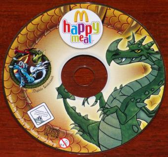 McDonald's happy meal Digitale Erlebniswelt grüner Drache CD-ROM Hong-Kong 2008