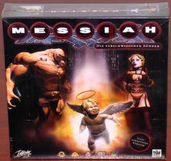Messiah - Die verschwiegenen Sünden - Sex, Religion, Besessenheit, Tod - Uncut ungeschnittene Version inkl. Making-Of CD-Rom Soundtrack von Fear Factory & DJ KJD, OVP/NEU in Eurobox, David Perry/Shiny/Interplay 1999