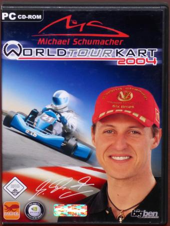 Michael Schumacher World Tour Kart 2004 PC CD-ROM 10tacel Studios AG/bigben Interactive