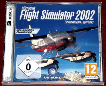 Microsoft Flight Simulator 2002 Ubisoft auf 3 CDs