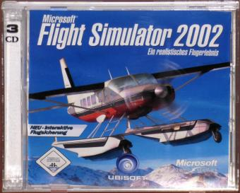 Microsoft Flight Simulator 2002 PC CD-ROMs
