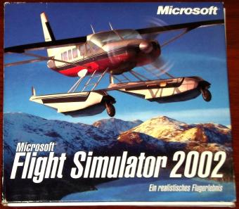Microsoft Flight Simulator 2002 auf 3 CDs