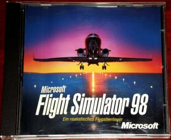 Microsoft Flight Simulator 98 PC CD-ROM UbiSoft