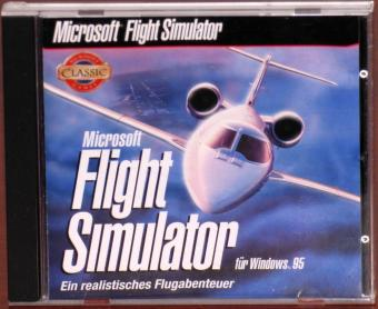 Microsoft Flight Simulator für Windows 95/98 CD Ein realistisches Flugabenteuer Mattel Interactive