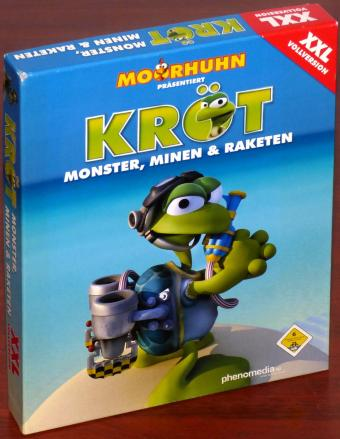 Moorhuhn präsentiert Kröt Monster, Minen & Raketen XXL Vollversion 80 Level PC CD-ROM NEU/OVP Snowstep Development/phenomedia AG 2004