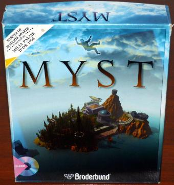 Myst inklusive Journal & Hinweisse in OVP - Broderbound/Cyan 1995