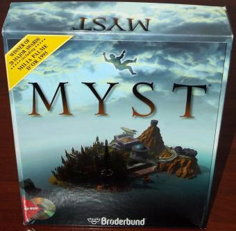 Myst für Windows CD Deutsch - Broderbund, Winner of 20 Major Awards Milla Palme 1994