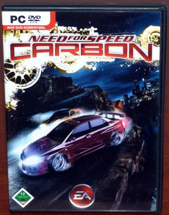 Need for Speed - Carbon, PC DVD Electronic Arts 2006