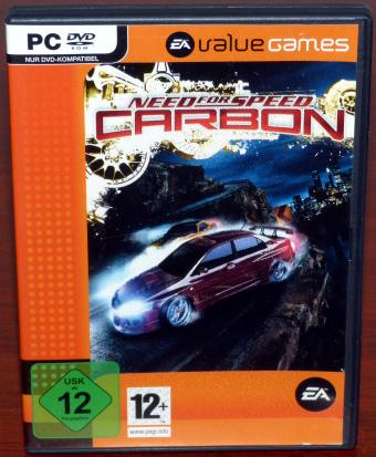 Need for Speed - Carbon, PC DVD Value Games Electronic Arts 2006