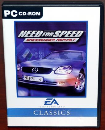 Need for Speed - Brennender Asphalt NFS4 Classics, 3Dfx Electronic Arts 1990