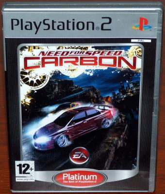 Need for Speed - Carbon PlayStation 2 (PS2) Spiel, Electronic Arts/Sony 2006