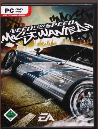 Need for Speed - Most Wanted - Berühmt und berüchtigt PC DVD Electronic Arts 2005