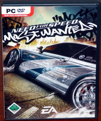Need for Speed - Most Wanted PC DVD, Electronic Arts 2005