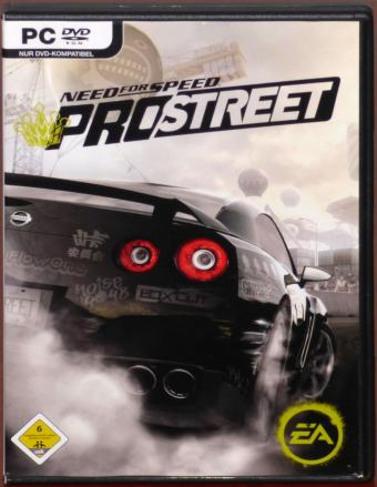 Need for Speed ProStreet PC DVD Electronic Arts Inc. EA 2007