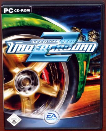 Need for Speed - Underground 2, PC Spiel 2CDs Electronic Arts 2004