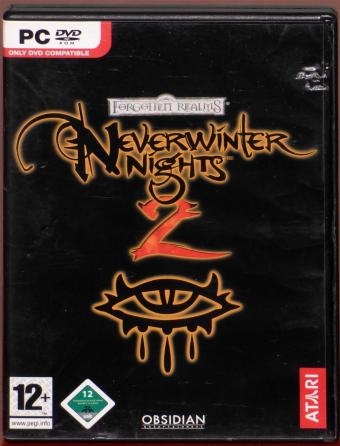 NeverWinter Nights 2 - Forgotten Realms PC DVD ATARI/Obsidian Entertainment/BioWare/Hasbro 2006