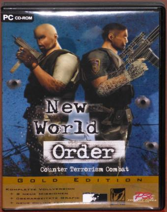 New World Order Counter Terroism Combat Gold-Edtion PC CD-ROM termite/Peter Games/P3i Morphicon Ltd. 2005
