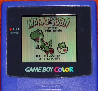 Nintendo GameBoy Color Model-No: CGB-001 lila, inkl. Mario & Joshi Game 1998