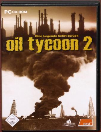 Oil Tycoon 2 PC CD-ROM Dartmoor Softworks/East Entertainment Media 2005