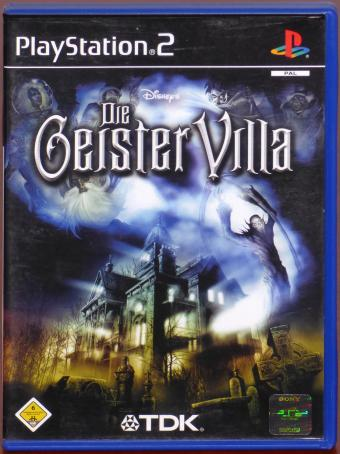 PlayStation 2 (PS2) Die GeisterVilla Disney/TDK/Sony 2004