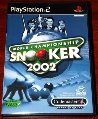 PS/2 Game - Snooker 2002 World Championchip - Codemasters
