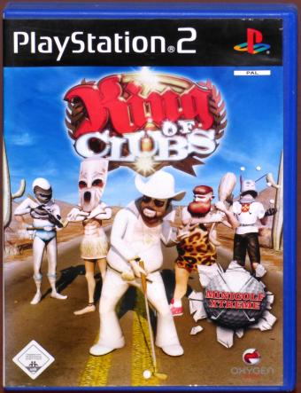 PlayStation 2 (PS2) King of Clubs - Minigolf Xtreme - Oxgen Games/Sony 2007